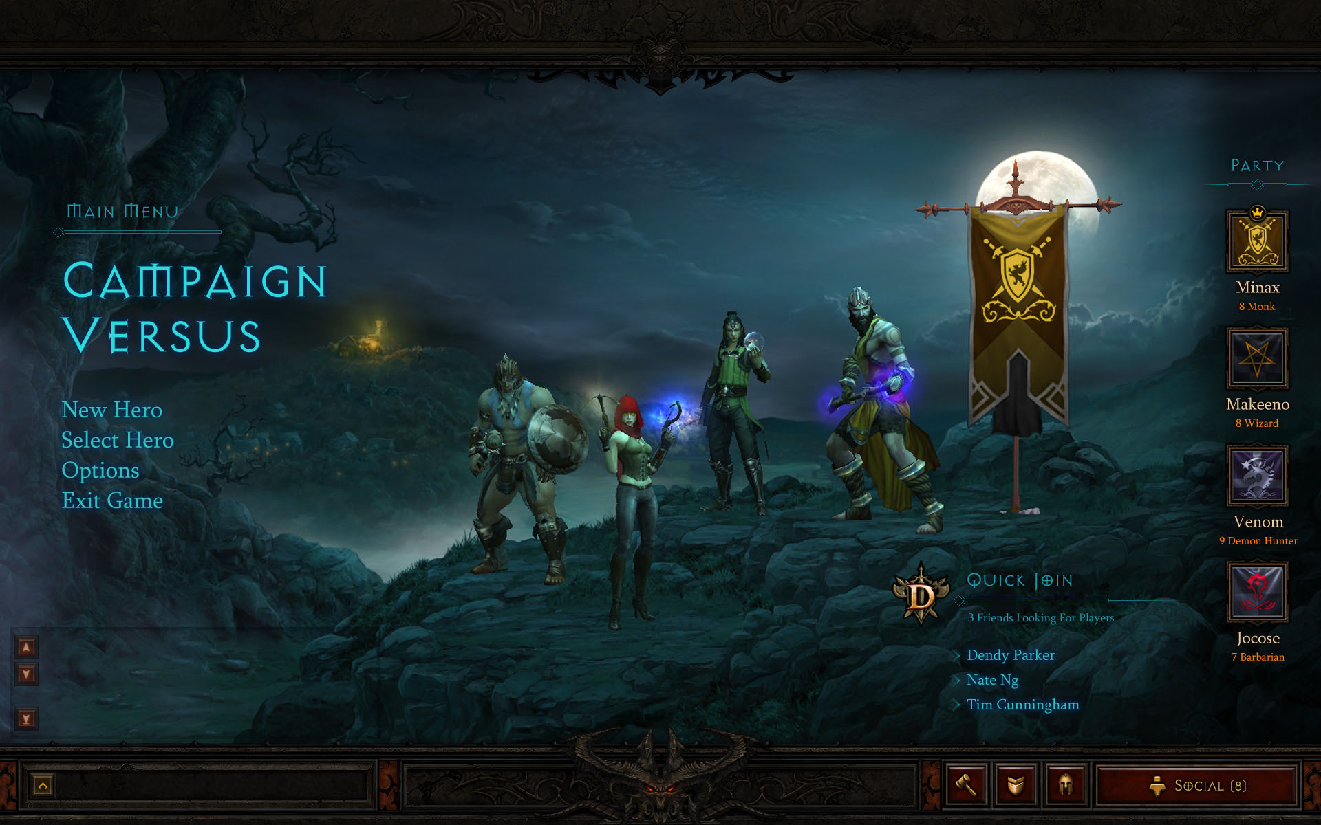 Diablo 3 Interface