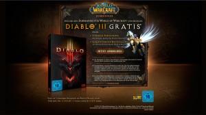 Diablo 3 Kostenlos - Beim Kauf WoW Jahrespass
