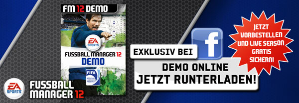 Fussball Manager 12 - Demo Download