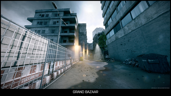 Grand Bazaar - Battlefield 3 Multiplayer-Karte