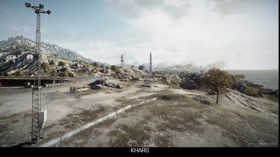 Kharg Island - Battlefield 3 Multiplayer-Karte
