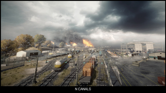 Noshahar Canals - Battlefield 3 Multiplayer-Karte